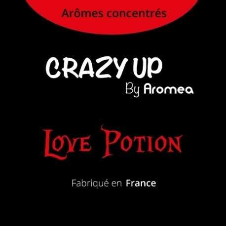 "Love Potion - AROMEA recette ""Crazy Up"""