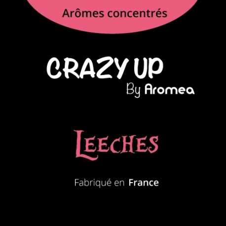 "Leeches - AROMEA recette ""Crazy Up"""