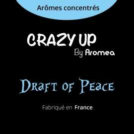 "Draft Of Peace - AROMEA recette ""Crazy Up"""